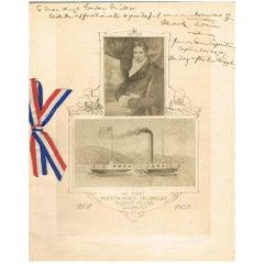Mark Twain Autograph and Inscription