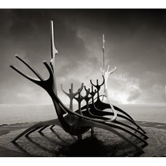 """Sun Voyager"" Sculpture as Captured by Photographer Jeffrey Glasser"