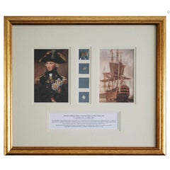 Trafalgar Collection of Historical Lord Nelson & HMS Victory Artefacts