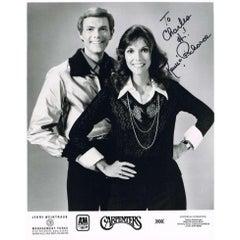 The Carpenters Autographed Photograph