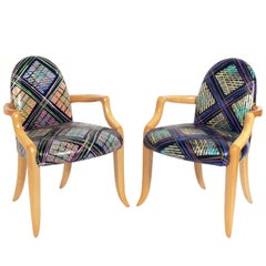 Pair of Armchairs by Wendell Castle