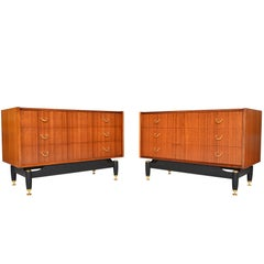 Pair of G Plan Librenza Range Gentleman's Chests