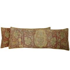 Pair of Antique Silk Turkish Pillows, circa 1900, 1703p  1704p