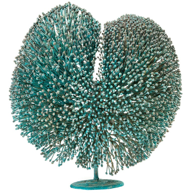 Harry Bertoia Patinated Bronze Bush Sculpture, USA, 1970s