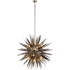 Murano Glass Sputnik Shard Chandelier