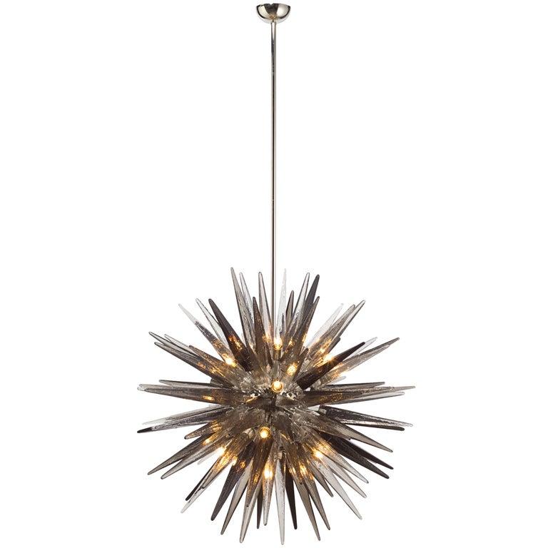 Murano Glass Sputnik Shard Chandelier