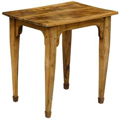 French Provincial 19th Century Petite Rustic Olivewood Side Table