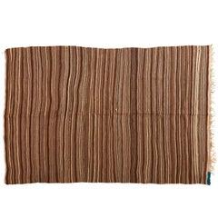 Brown Moroccan Wool Blanket