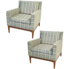 1950s Mid-Century Modern Paul McCobb Directional Lounge Chairs