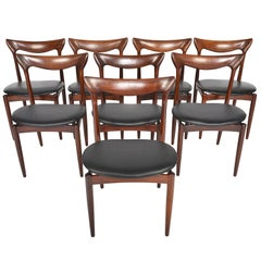 Set of Eight H.W. Klein Teak Dining Chairs