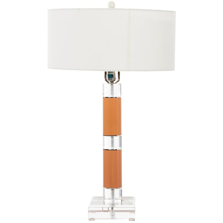 Karl Springer Table Lamp