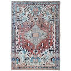 Antique Serapi Rug, Persia