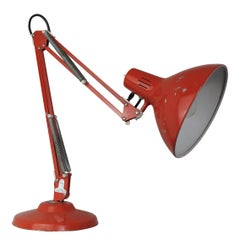 Vintage Red Anglepoise Desk Lamp from 1001 Lamps, London, 1960s