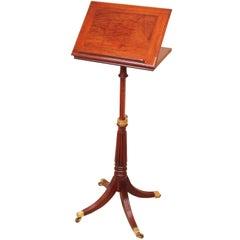 antique and vintage music stands 185 for sale at 1stdibs. Black Bedroom Furniture Sets. Home Design Ideas