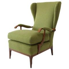 Midcentury Paolo Buffa Lounge Chair