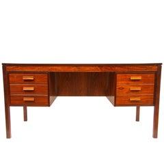 Norwegian Rosewood Desk by P Heggen