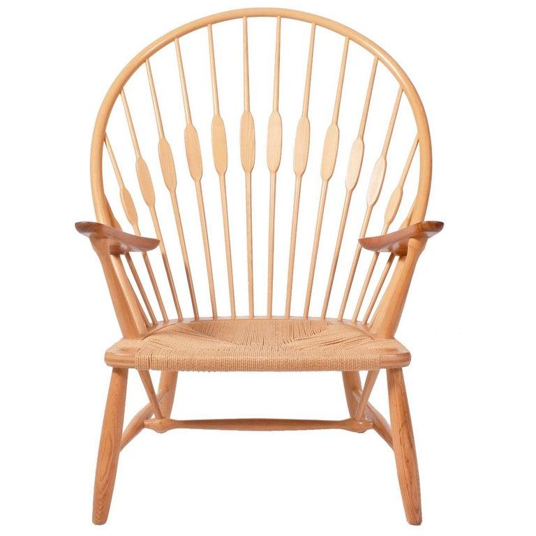 Peacock Chair by Hans Wegner for Johannes Hansen For Sale