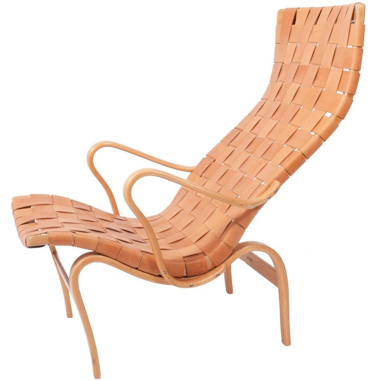 "Bruno Mathsson ""Pernilla2"" Easy Chair for Karl Mathsson"