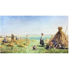 Paul Albert Baudouin, the Harvesters