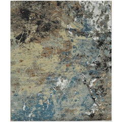 New Handmade Modern Contemporary Design Rug