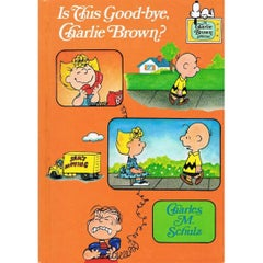 Charles Schulz Autograph on Is This Good-Bye, Charlie Brown?