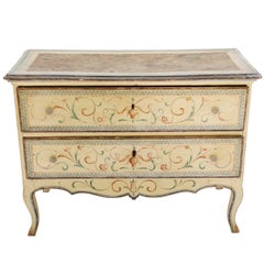 Hand-Painted 18th Century Venetian Commode
