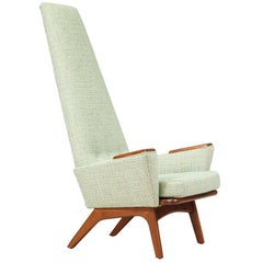 "Adrian Pearsall ""Slim Jim"" High-Back Chair for Craft Associates"