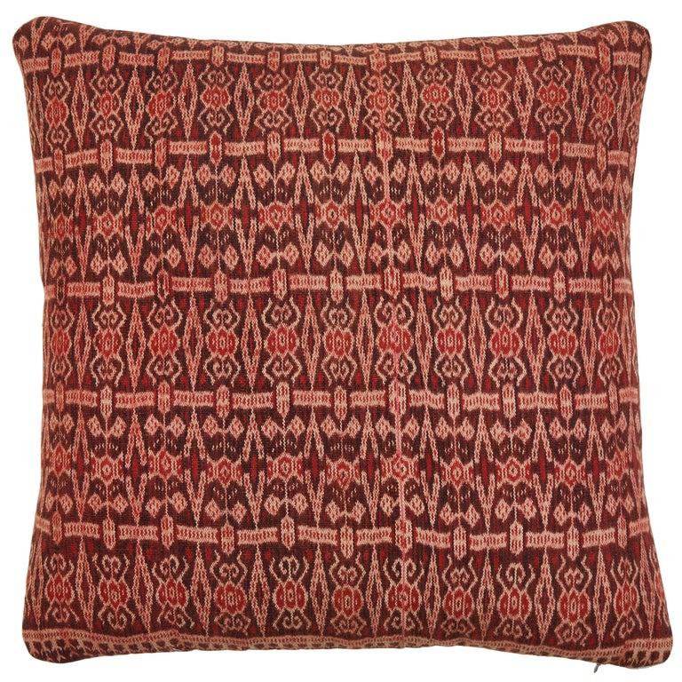 Vintage SE Asian Ikat Textile Pillows