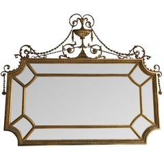 Exceptional Late 19th Century Gilt Border Mirror