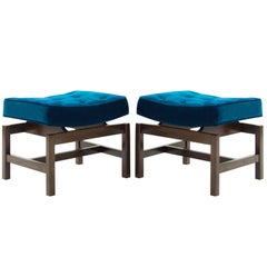 Pair of Footstools by Jens Risom, 1950s