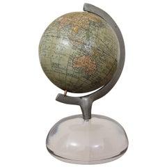 "Rare Rand McNally & Co. ""New 3"" Terrestrial Globe"