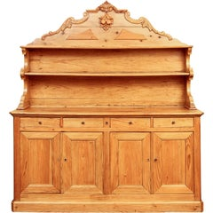 Large-Scale Antique French Pine Server