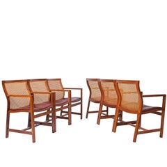 Rud Thygesen & Johnny Sorensen Six Armchairs for Botium