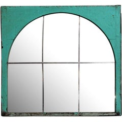 1882 Domino Sugar Building Window Mirror from Williamsburg, Brooklyn, NY