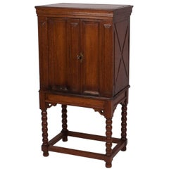 French Baroque Cabinet on Later Stand, circa 1800