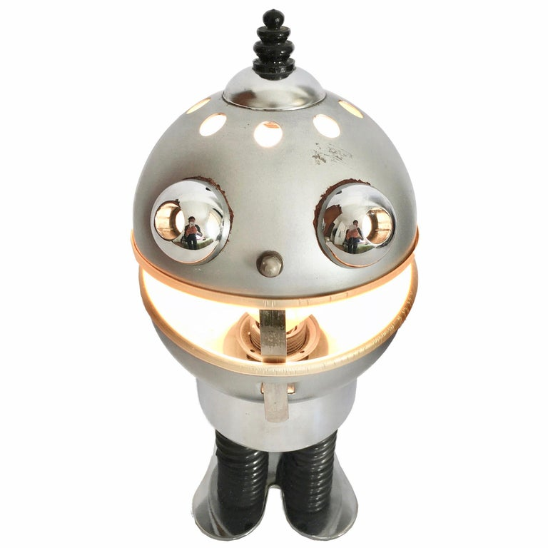 Space Age Robot Table Lamp, 1970s