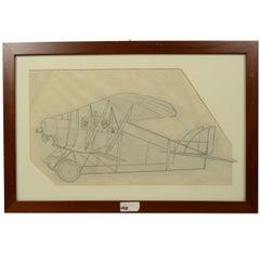 Two-Seat Biplane, WWI