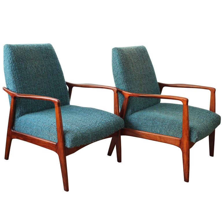 Set of two Midcentury Armchairs