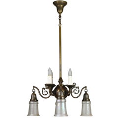 Beardslee Gas/Electric Chandelier with Shades