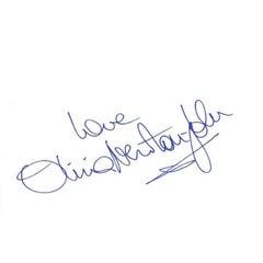 Olivia Newton John Autograph