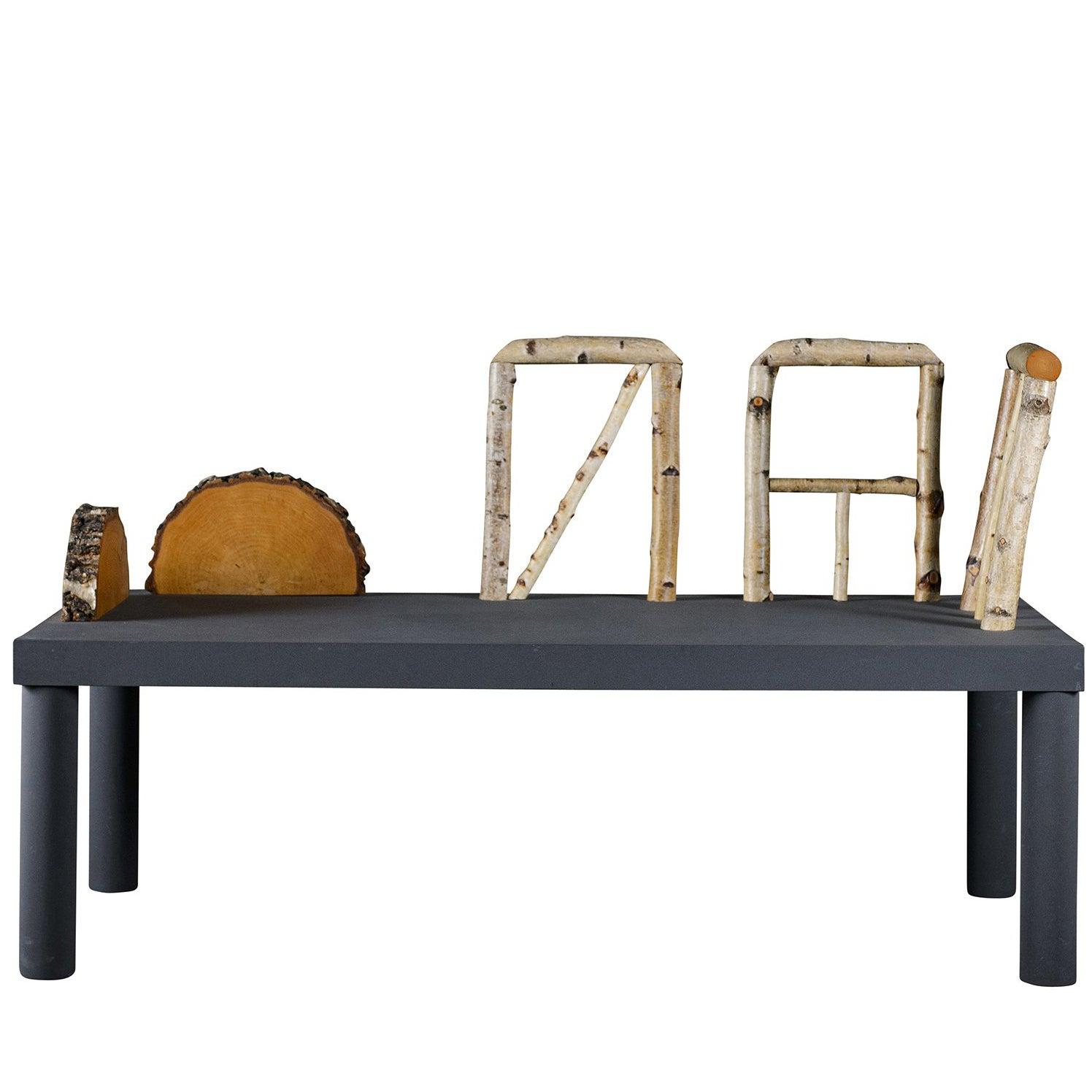Andrea Branzi 'Animali Domestici' Bench