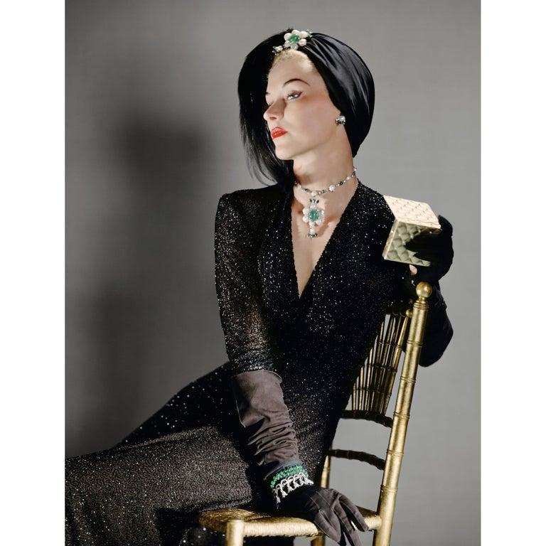 Lisa Fonssagrives, Color Portrait Photograph