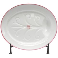 Late 19th Century Armorial China Platter