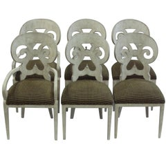 Set of Six Dining Chairs Styled by Paris Hadley