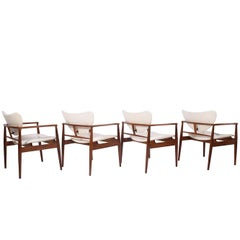 "Set of Four Finn Juhl ""48"" Armchairs"