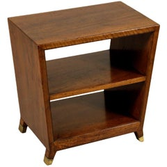 Cabinet Attributed to Gio Ponti Walnut Vintage, Italy, 1950s