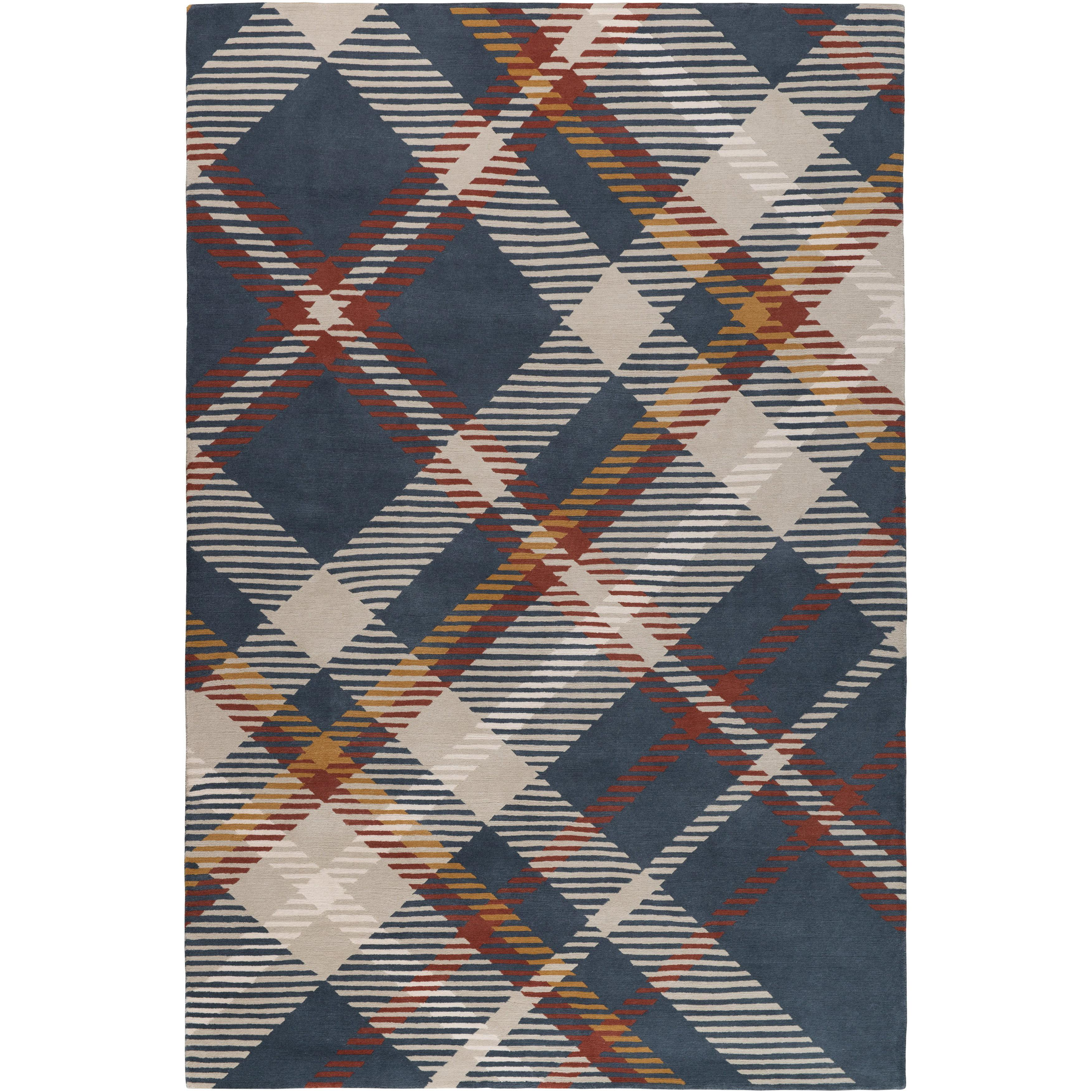 Highland Hand Knotted 6x4 Floor Rug In Wool By Vivienne Westwood