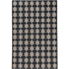 Mazarin Hand-Knotted 6x4 Area Rug in Wool by The Rug Company