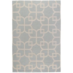 Astor 6x4 Hand-Knotted Area Rug in Wool by The Rug Company