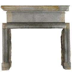 17th Century Bicolor Strong Vintage Fireplace Surround